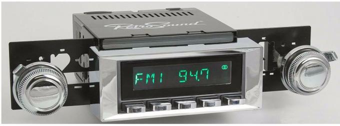 RetroSound 1965-66 Chevrolet Biscayne Long Beach Radio