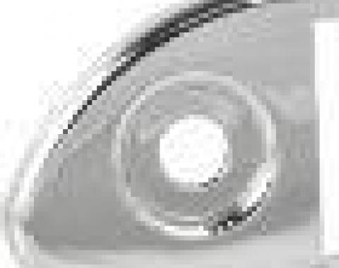 RetroSound Porsche 367 Chrome Faceplate (#311)