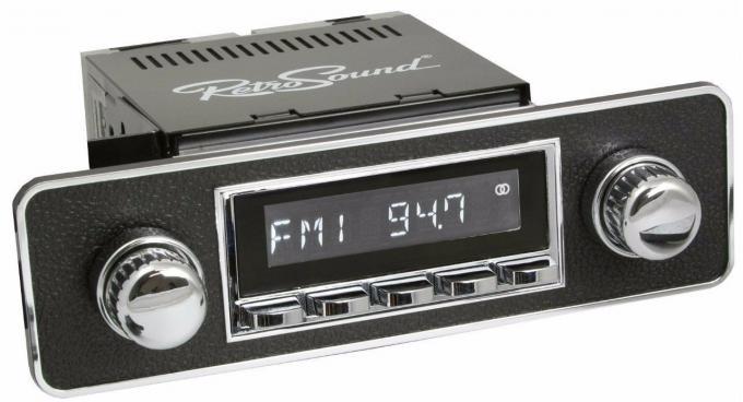 RetroSound 1977-98 BMW 7 Series Laguna Radio with DIN Kit