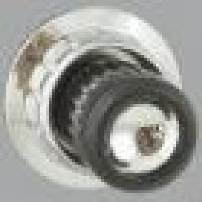 RetroSound Black with Chrome Dot Front Knobs (#25) / Ford Falcon Rear Knobs (#85)