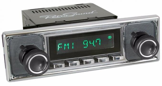 RetroSound 1966-72 Mercedes Benz 250 Long Beach Radio
