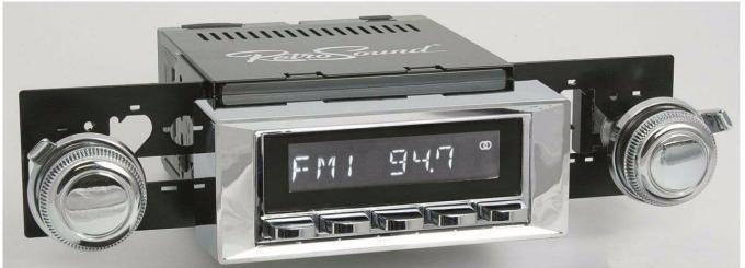 RetroSound 1966 Chevrolet Caprice Laguna Radio