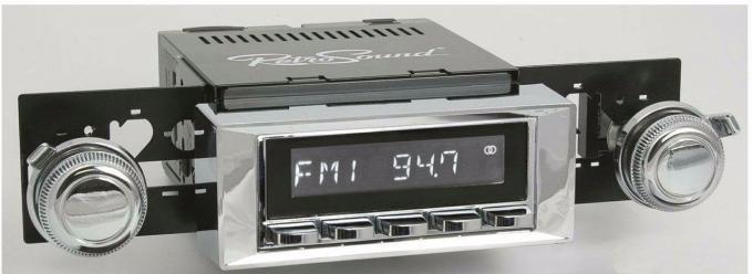 RetroSound 1965-66 Chevrolet Impala Hermosa Radio