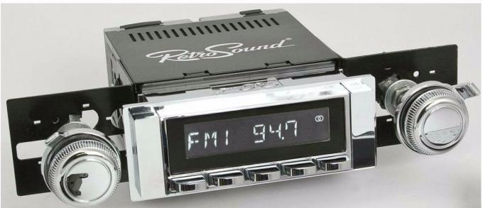 RetroSound 1964-65 Chevrolet Malibu Hermosa Radio