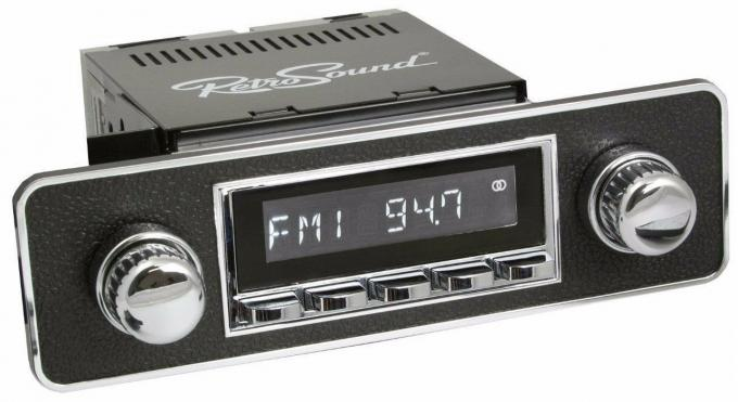 RetroSound 1995-02 Volkswagen Cabrio Hermosa Radio with DIN Kit