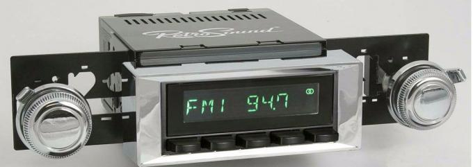 RetroSound 1973-84 Chevrolet Monte Carlo Long Beach Radio