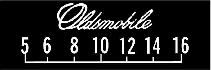 RetroSound Oldsmobile Logo Screen Protector, Pkg of 3