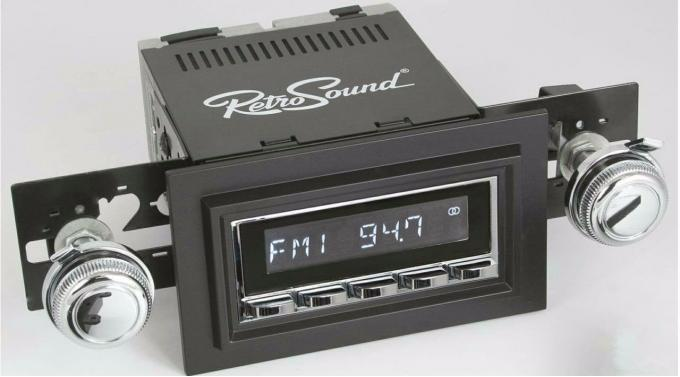 RetroSound 1968-79 Ford F-Series Truck with Deluxe 8-Track Factory Radio Hermosa Radio