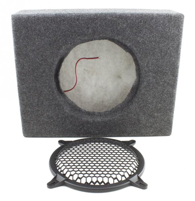 RetroSound Sealed MDF Enclosure for Flat 8-inch Subwoofer with Grill