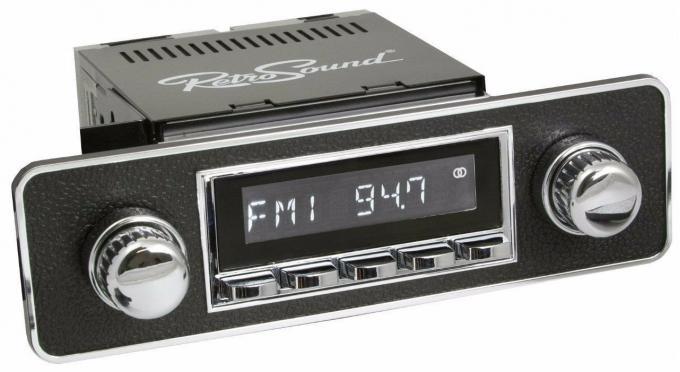 RetroSound 1980-95 Honda Civic Hermosa Radio with DIN Kit