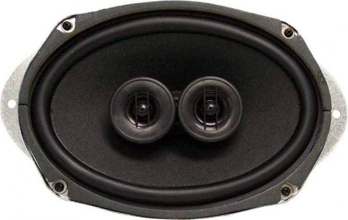 Custom Autosound 1963-1964 Ford Galaxie Dual Voice Coil Speakers