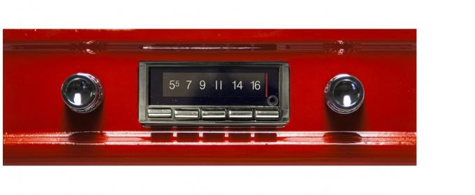 Custom Autosound 1960-1963 GMC Truck/Jimmy USA-740 Radio