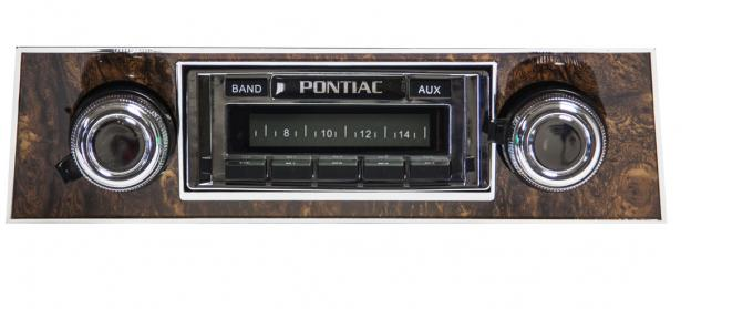 Custom Autosound 1968 Pontiac Firebird USA-230 Radio