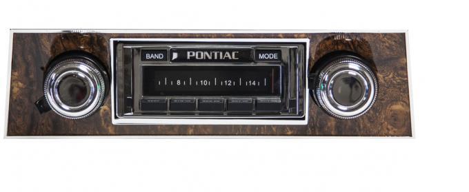 Custom Autosound 1968 Pontiac Firebird USA-630 Radio