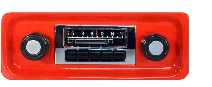 Custom Autosound 1967-1972 Chevrolet Truck/Blazer Slidebar Radio