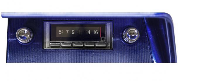 Custom Autosound 1966 Chevrolet Impala/Caprice USA-740 Radio