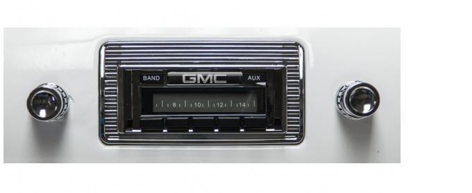 Custom Autosound 1947-1953 GMC Truck/Jimmy USA-230 Radio