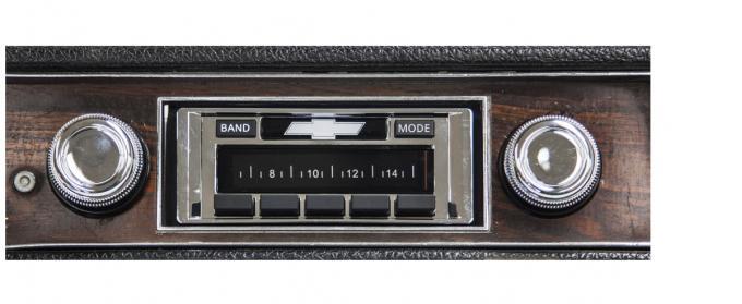 Custom Autosound 1969 Chevrolet Impala/Caprice USA-630 Radio