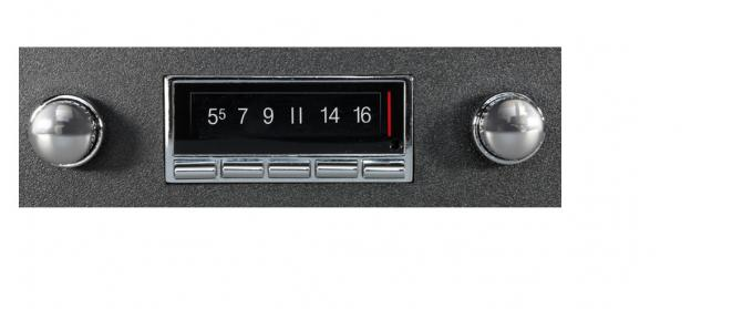 Custom Autosound 1963-1964 Ford Galaxie USA-740 Radio