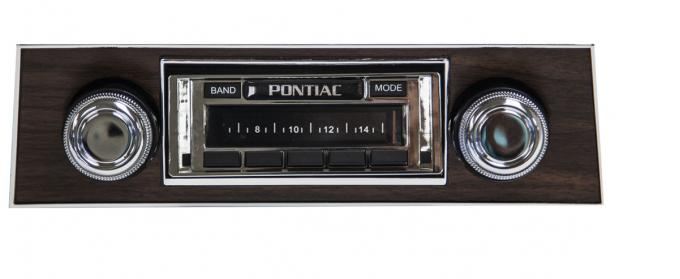 Custom Autosound 1967 Pontiac Firebird USA-630 Radio