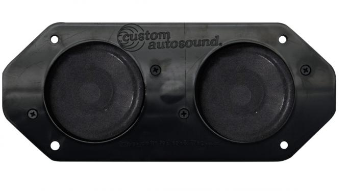 Custom Autosound 1962-1966 Studebaker Dual Speakers
