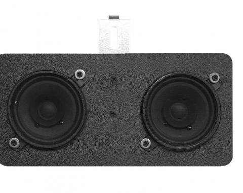 Custom Autosound 1968-1979 Chevrolet Nova Dual Speakers