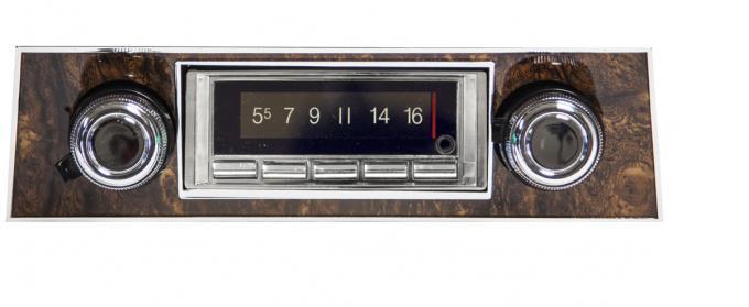 Custom Autosound 1968 Pontiac Firebird USA-740 Radio