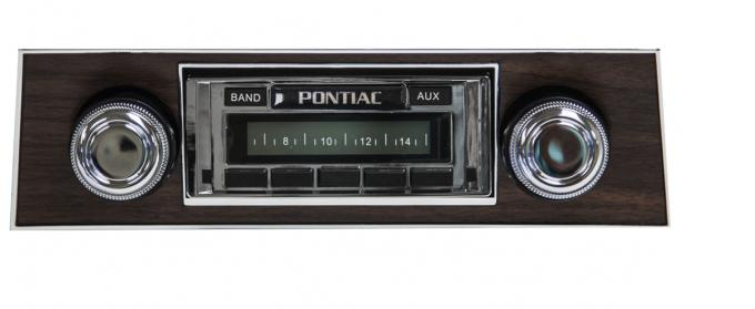 Custom Autosound 1967 Pontiac Firebird USA-230 Radio