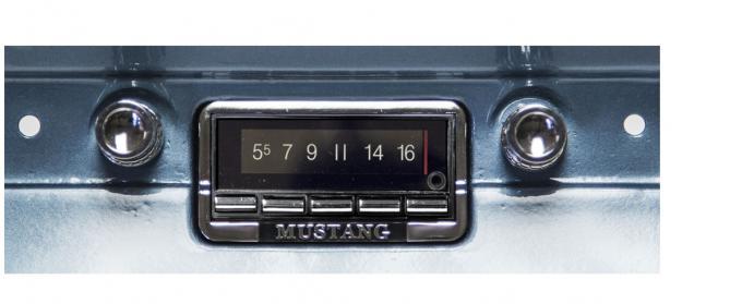 Custom Autosound 1964-1966 Ford Mustang USA-740 Radio