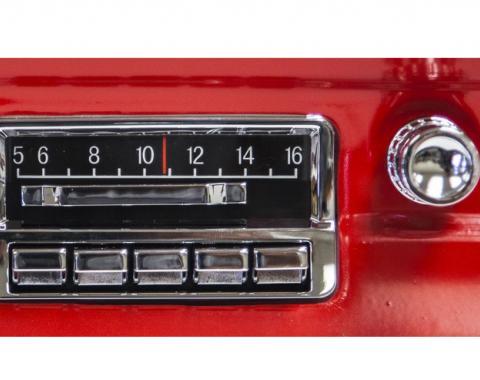 Custom Autosound 1964-1966 Ford Mustang Slidebar Radio