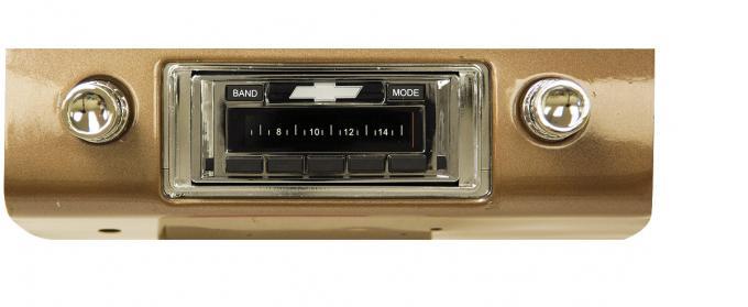 Custom Autosound 1953-1954 Chevrolet Fullsize USA-630 Radio
