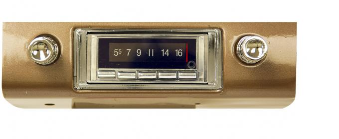 Custom Autosound 1953-1954 Chevrolet Fullsize USA-740 Radio