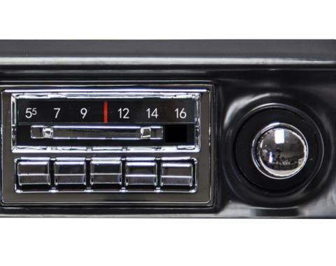 Custom Autosound 1968-1976 Chevrolet Corvette Slidebar Radio