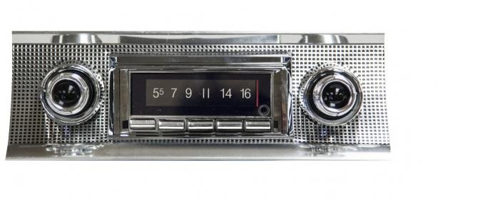 Custom Autosound 1957 Chevrolet Chevrolet 150/210 USA-740 Radio