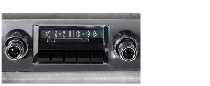 Custom Autosound 1965 Chevrolet Impala/Caprice Slidebar Radio