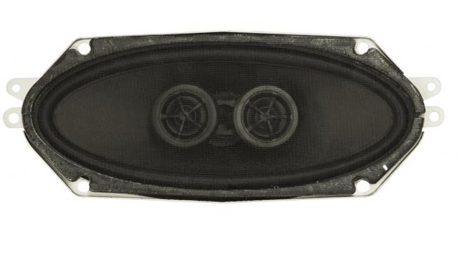 Custom Autosound 1962-1965 Chevrolet Nova Dual Voice Coil Speakers