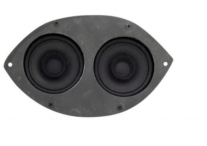 Custom Autosound 1967-1973 Ford Mustang Dual Speakers