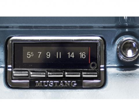 Custom Autosound 1964-1966 Ford Mustang USA-740 Radio
