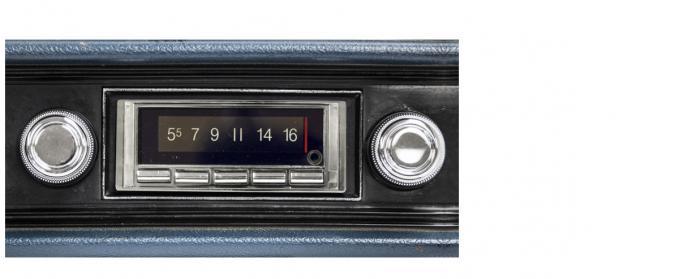 Custom Autosound 1970-1972 Chevrolet Impala/Caprice USA-740 Radio