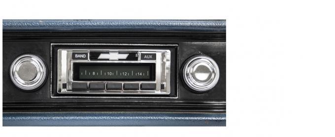 Custom Autosound 1970-1972 Chevrolet Impala/Caprice USA-230 Radio