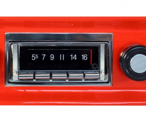 Custom Autosound 1967-1972 Chevrolet Truck/Blazer USA-740 Radio