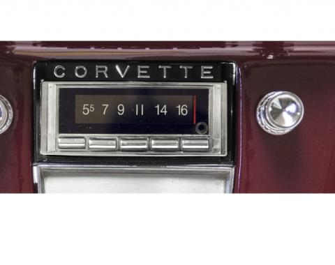 Custom Autosound 1958-1962 Chevrolet Corvette USA-740 Radio