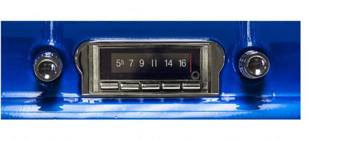 Custom Autosound 1960-1963 Ford Falcon USA-740 Radio