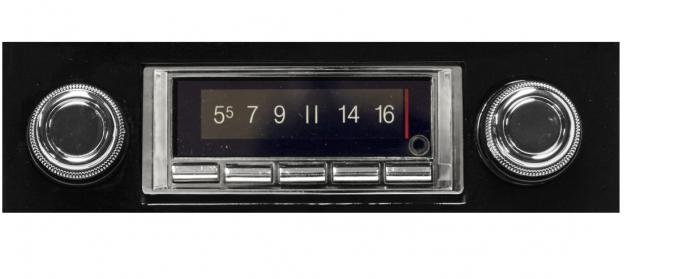 Custom Autosound 1967-1968 Chevrolet Impala/Caprice USA-740 Radio