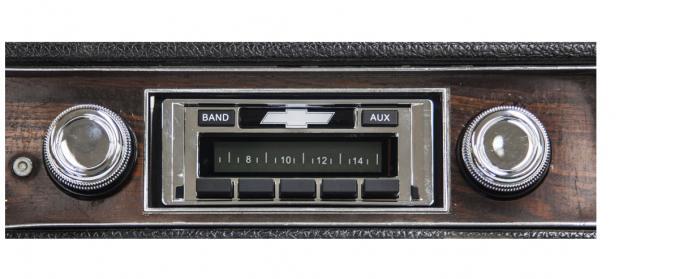 Custom Autosound 1969 Chevrolet Impala/Caprice USA-230 Radio