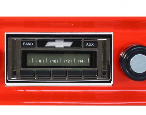 Custom Autosound 1967-1972 Chevrolet Truck/Blazer USA-230 Radio