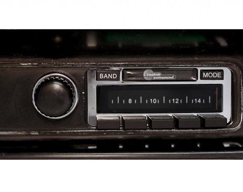 Custom Autosound 1970-1974 Mopar Challenger (E-Body) USA-630 Radio