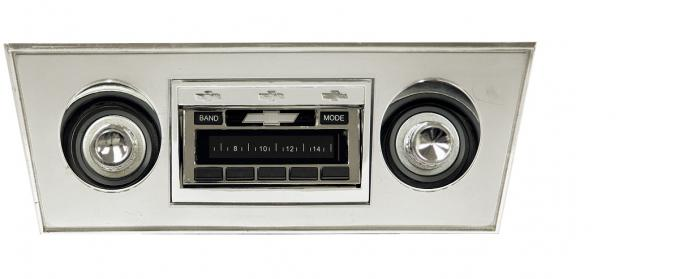 Custom Autosound 1966-1967 Chevrolet Nova USA-630 Radio
