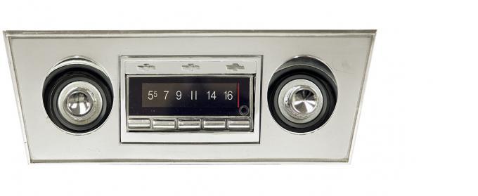 Custom Autosound 1966-1967 Chevrolet Nova USA-740 Radio