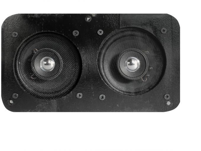 Custom Autosound 1951-1952 Chevrolet Fullsize Dual Speakers